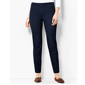 Talbots Chatham Black Ankle Pants